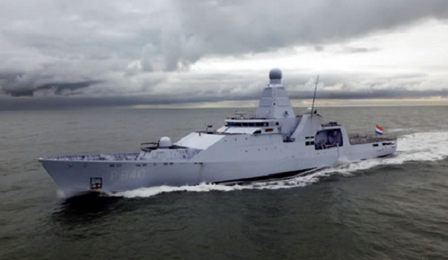 In case of Brexit, Scotland would need Navy frigates comparable to the highly capable Royal Netherlands Navy HNLMS Holland, a modern warship that won't become obsolete anytime soon. Image courtesy of navyrecognition.com