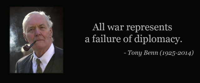 Britain - Tony Benn quote