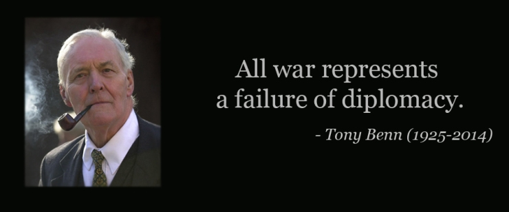 Britain - Tony Benn quote