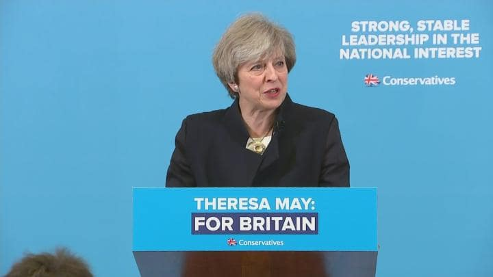 UK PM May has handled SNP's threat to leave the UK post-Brexit, and possibly take Northern Ireland and Wales with it, via her General Election strategy.