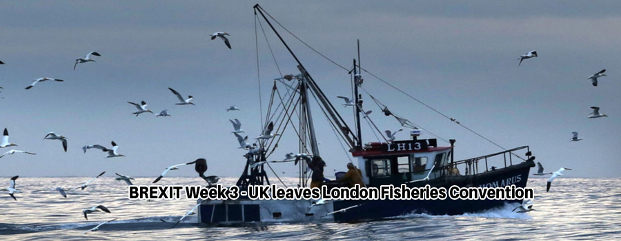 UK Environment Secretary Micheal Gove says Britain intends to cancel the London Fisheries Convention.