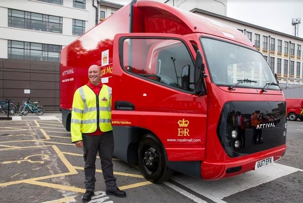 Royal Mail 6-tonne van presently undergoing trials in London