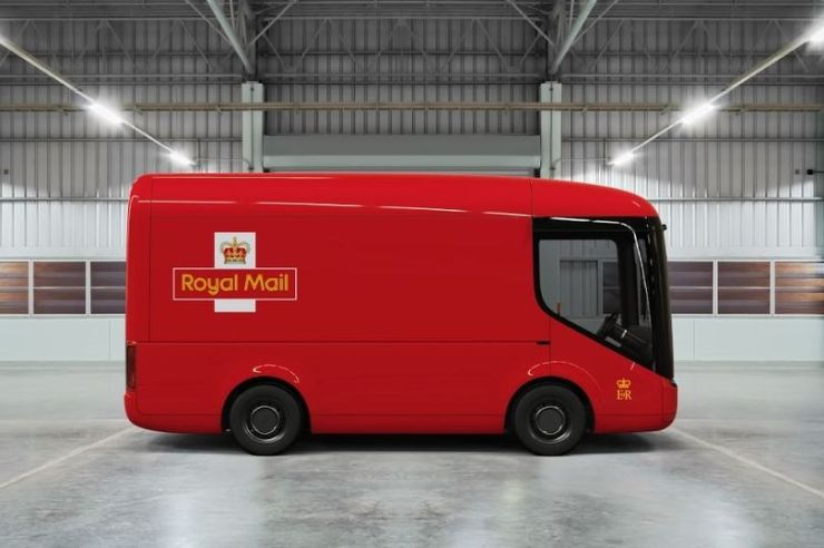 Royal Mail electric trucks made by Arrival
