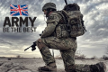 UK Defence Spending 2017. British Army slogan: Be The Best.