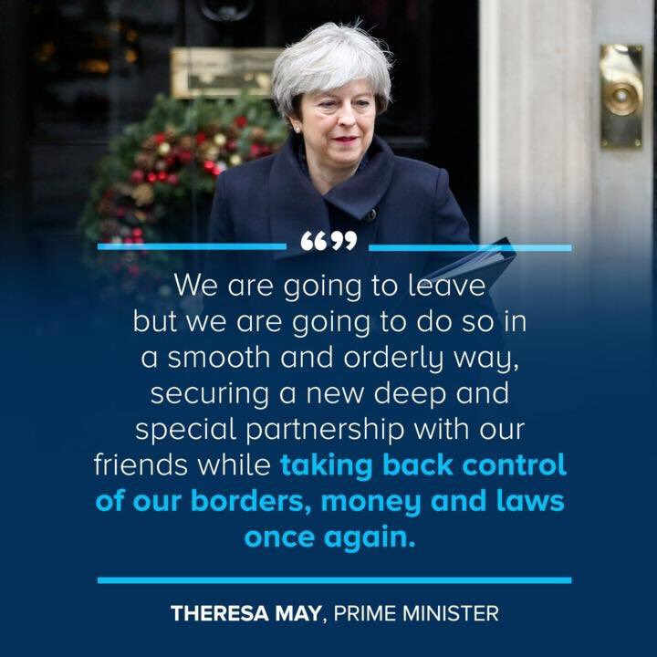 UK Brexit, PM Theresa May.