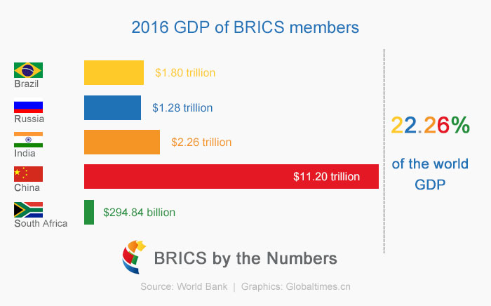 Russia and BRICS members
