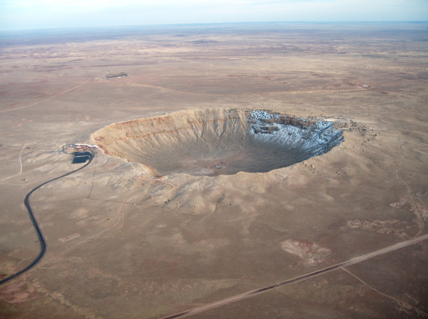 Meteor Crater near Winslow, Arizona