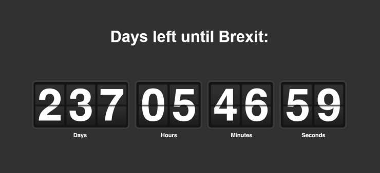 Countdown to Brexit