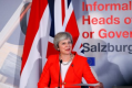 Theresa May in Salzburg