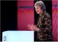 Theresa May at the CBI