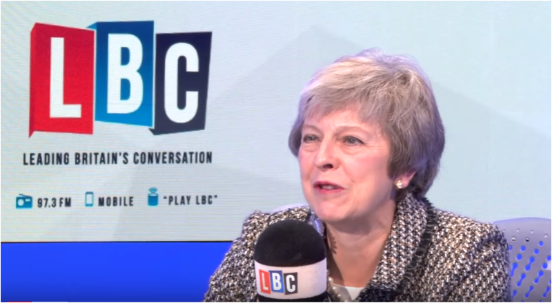 PM Theresa May Takes Calls on LBC: November 16, 2018