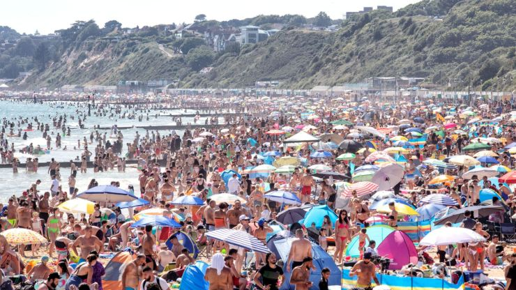 Bournemouth beaches, Coronavirus, UK