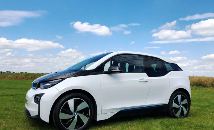 BMW i3 with range extender option